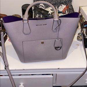 Gray MK Bag